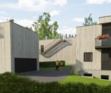 Newbildings, four detached houses - arkitekt Søren Yran